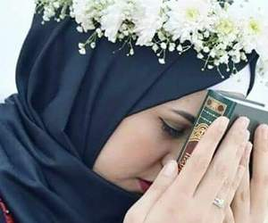 hijab, islamic, and القرآن image
