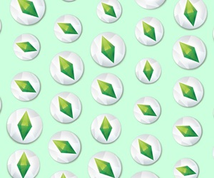 pattern and sims image