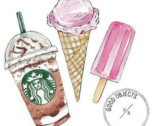 starbucks and icecream image