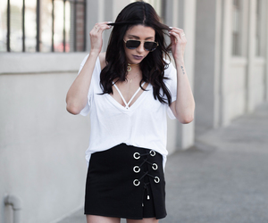 black and white, minimalism, and fashionlush image