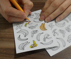 bananas, etsy, and favor bags image
