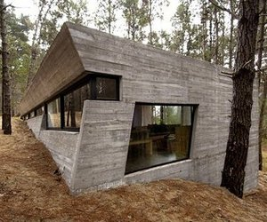 architecture, concrete, and forest image