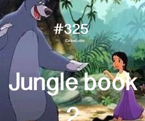 disney, jungle book, and movie image