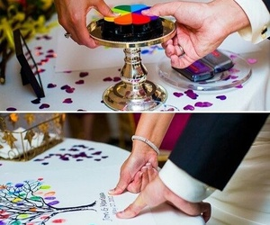 wedding, tree, and ideas image