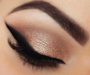 eyeliner, make up, and beauty image