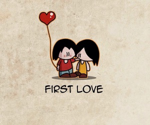 background, couple, and first love image