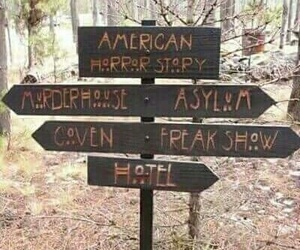 coven, asylum, and american horror story image