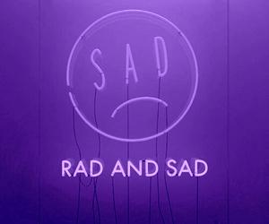 purple, sad, and aesthetic image
