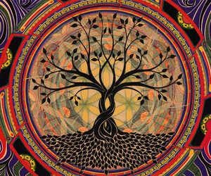 tree and hippie image
