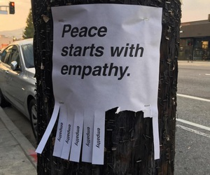 peace and street image