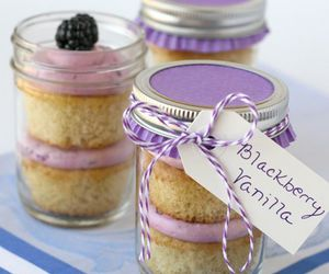 blackberry, cupcake, and jar image