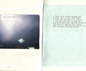 journal, Paper, and typewritten image