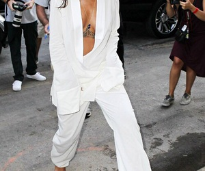rihanna, fashion, and white image