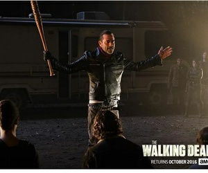 LUCILLE, negan, and twd image