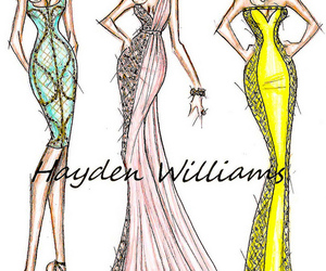 dress, fashion, and hayden williams image