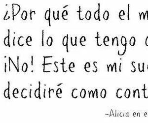 alicia, Dream, and frases image