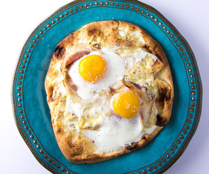 breakfast, cheese, and eggs image
