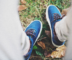 shoes, blue, and legs image