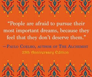 paulo coelho, quotes, and the alchemist image