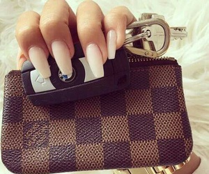 bmw, change purse, and Louis Vuitton image