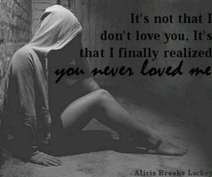 love, broken heart, and quote image