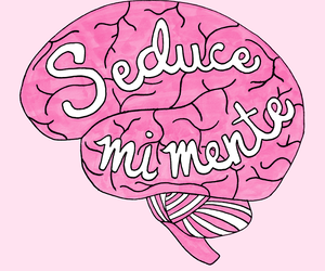 pink, brain, and seduce image