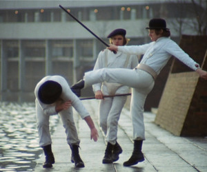 film, movie, and clockwork orange image