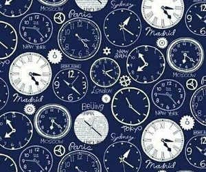 wallpaper, time, and pattern image