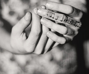 tattoo, music, and hands image