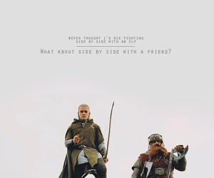 compassion, Legolas, and friend image