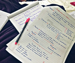 chemestry, notes, and science image
