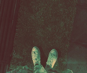 tumblr, converse, and dress image