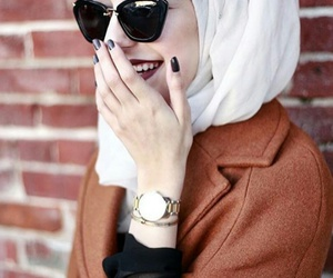 hijab, girls, and محجبات image
