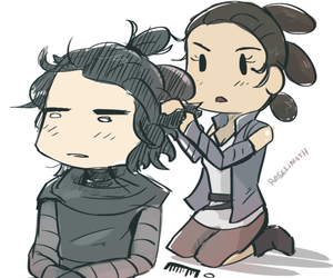reylo and rey image