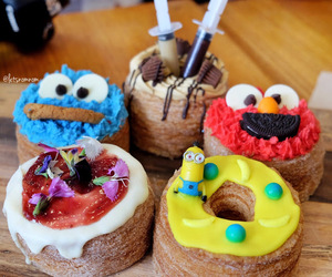 cafe, dessert, and donuts image