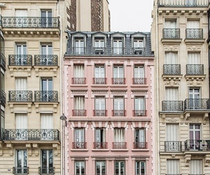 city, architecture, and pink image