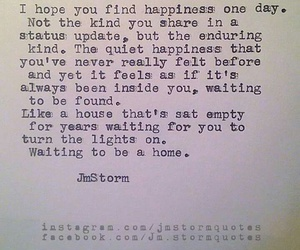 find, happiness, and home image