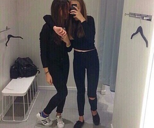 friends, black, and tumblr image
