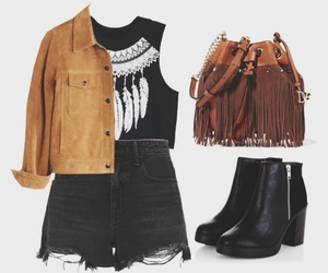 boots, casual, and fashion image