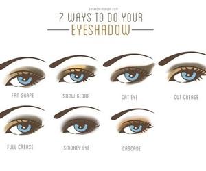 eye, make up, and contour image