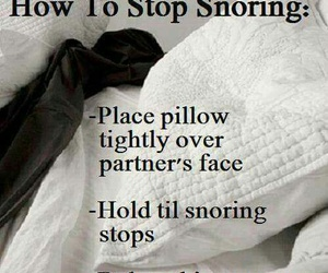 snoring, funny, and quotes image