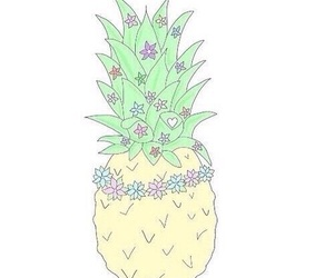 pineapple, overlay, and tumblr image