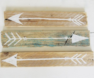 arrows, beach, and boho image