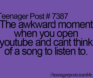song, youtube, and teenager post image