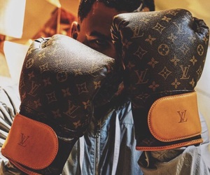 boxing and Louis Vuitton image