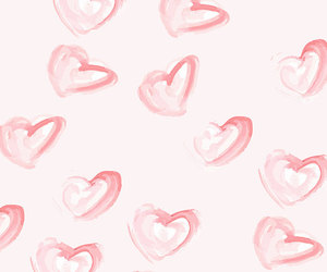 background, wallpaper, and hearts image