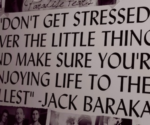 quote, jack barakat, and all time low image