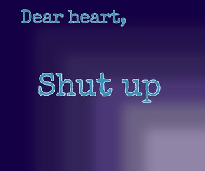 heart, stupid love, and shut up image