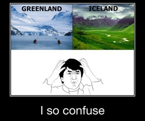 funny, greenland, and iceland image