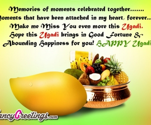 fancygreetings, happy ugadi, and ugadi image